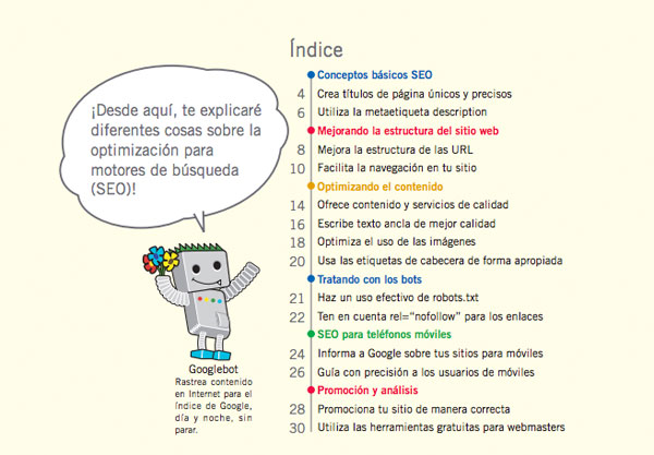 Guia Sobre Optimizacion Para Motores De Busqueda De Google